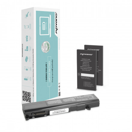 baterie pro Toshiba A50, A55, F20 (4400mAh)