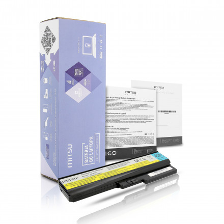 baterie mitsu Lenovo IdeaPad G450, G530, G550