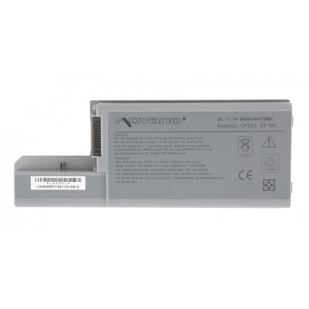 baterie movano Dell D531, D820, M65 (6600mAh)