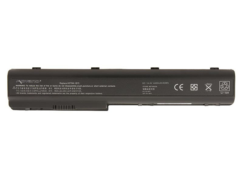 baterie movano HP dv7, hdx18