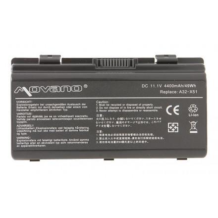 baterie movano Asus T12, X51 (4400mAh)