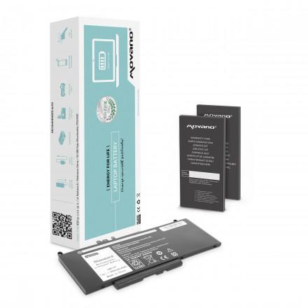 bateria movano Dell Latitude E5470, E5570 - 7.6v