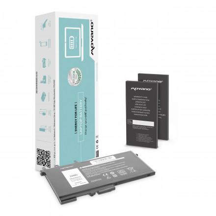 bateria movano Dell Latitude E5280, E5480, E5580