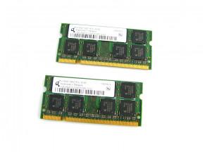 Operační paměť Qimonda 2x1GB 667MHz